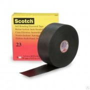 Scotch 23, самослип. резиновая изоляционная лента в инд. уп.,19мм х 9,1м