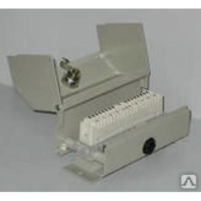 Коробка КРТ-2/10М замок-защелка плинт с разм.контактами