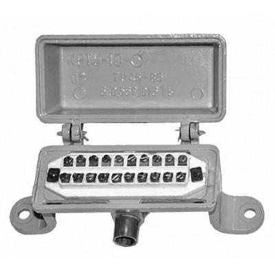 Коробка КРТУ 10х2 (силуминовый корпус)