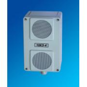 Колонка звуковая 10КЗ-4 (10Вт, 30/100/120в), корпус - пластик