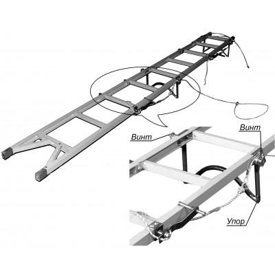 Лестница ЛПВС-М-15 для ЛЭП, 15м