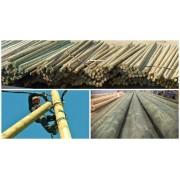 Опоры ЛЭП деревянные 6 м (пропитка-Элемсепт)