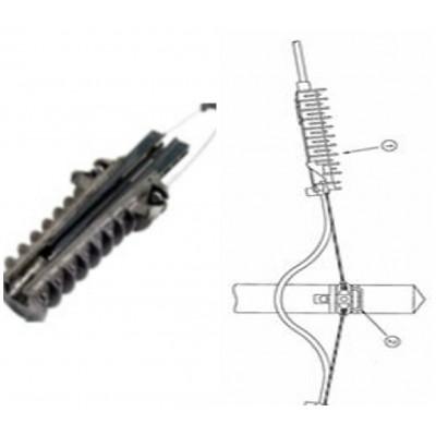 ACADSS12 Зажим анкерный для круглых кабелей связи диам.10-14 мм, пролет до 100м