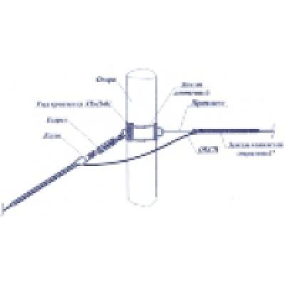 Зажим натяжной спиральный НСО-11,8П-14(17)