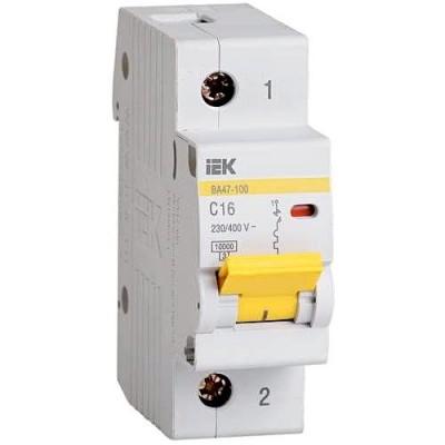 Автоматический выключатель ВА 47-100 1Р 25А
